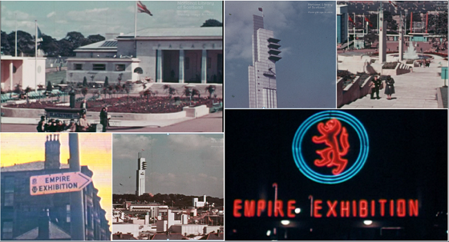 Image collage of empire exhibition