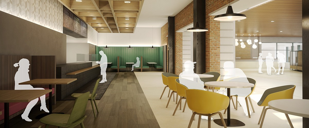 Kelvin Hall Cafe Artist Impression