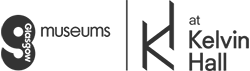 Glasgow Museums at Kelvin Hall logo