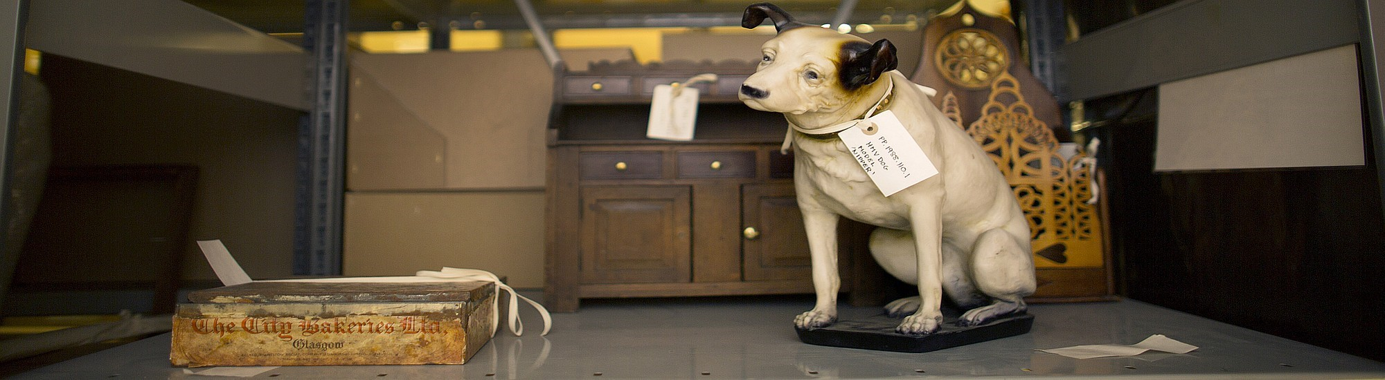 Glasgow Museums Social History Collection - HMV Dog